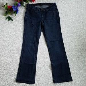 Jag Jeans Women's 6 Low Rise Boot Cut Blue